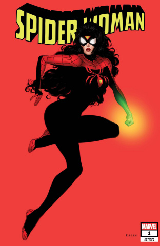 Spider-Woman #1 (Andrews Cover)