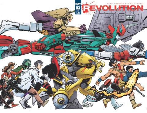 Revolution #3 (Subscription Cover)