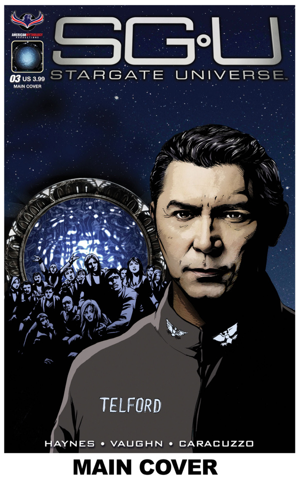 Stargate Universe: Back to Destiny #3 (Larocque Cover)