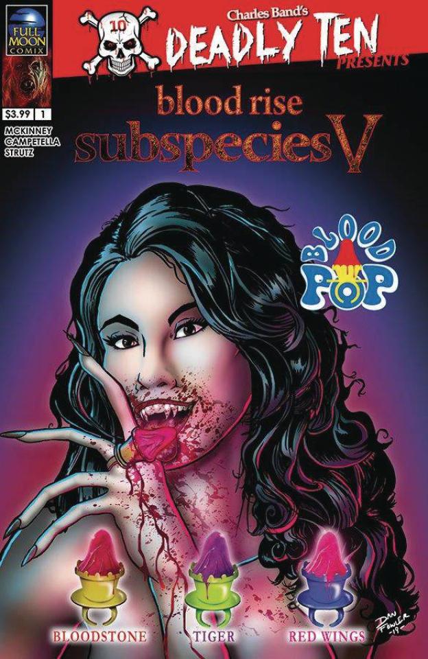 Deadly Ten Presents Subspecies V #1 (Fowler Cover)