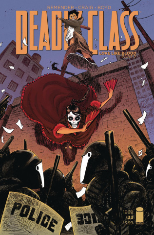 Deadly Class #33 (Stokely Cover)