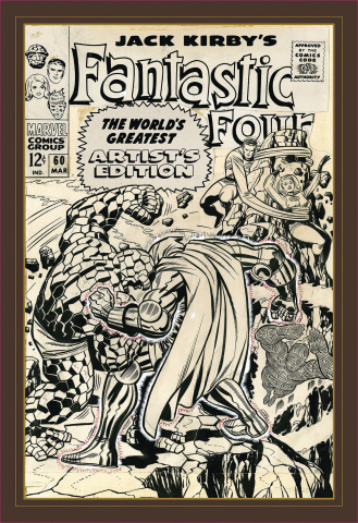 Jack Kirby's Fantastic Four: World's Greatest Artist's Edition