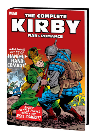 The Complete Kirby War & Romance (War Cover)