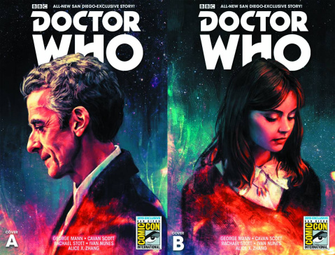 Doctor Who: New Adventures with the Twelfth Doctor #0 (SDCC Cover B)