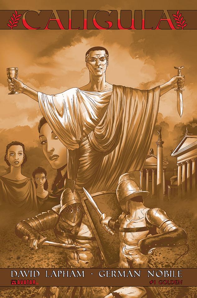 Caligula #1 (Golden Cover)