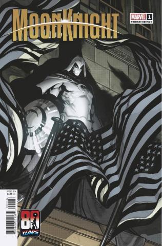 Moon Knight #1 (Larraz Captain America 80th Anniversary Cover)