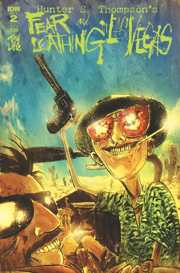 Fear and Loathing in Las Vegas #2 (Subscription Cover)