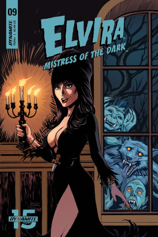 Elvira: Mistress of the Dark #9 (Cermak Cover)