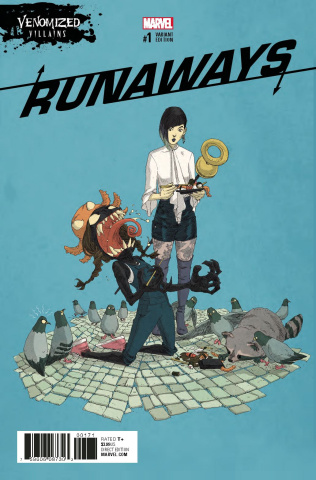 Runaways #1 (Venomized Alphona Cover)