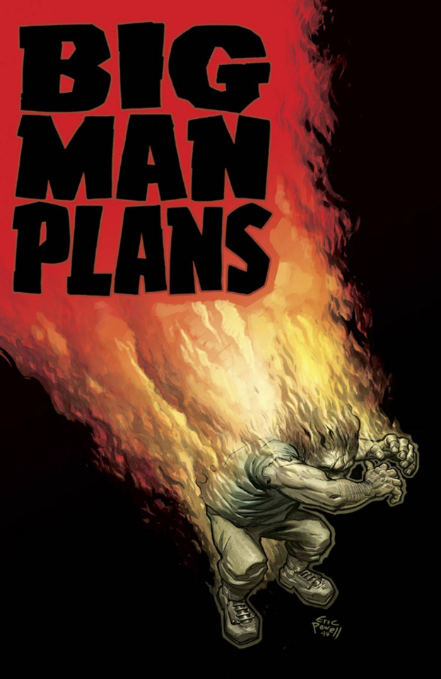 Big Man Plans #3 (Powell Cover)