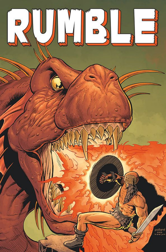 Rumble #11 (Pollard, Nowlan & Stewart Cover)