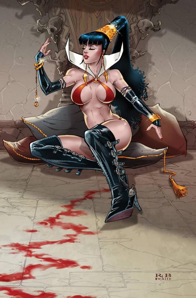 Vampirella #20 (25 Copy White Virgin Cover)
