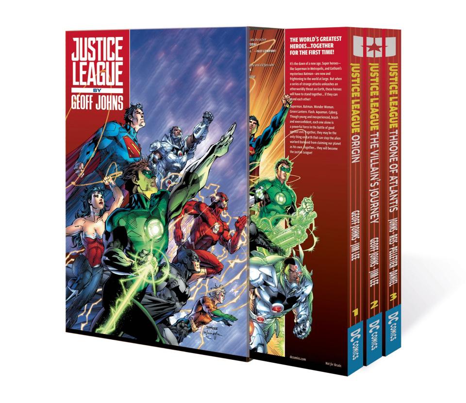 Justice League by Geoff Johns Vol. 1 (Box Set)