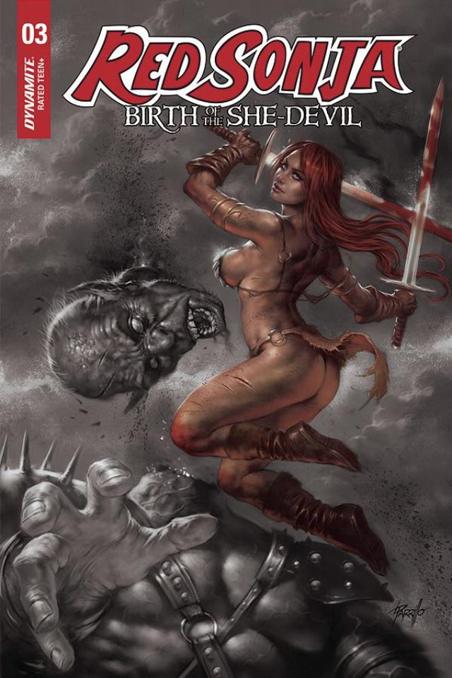 Red Sonja: Birth of the She-Devil #3 (15 Copy Parrilo Cover)