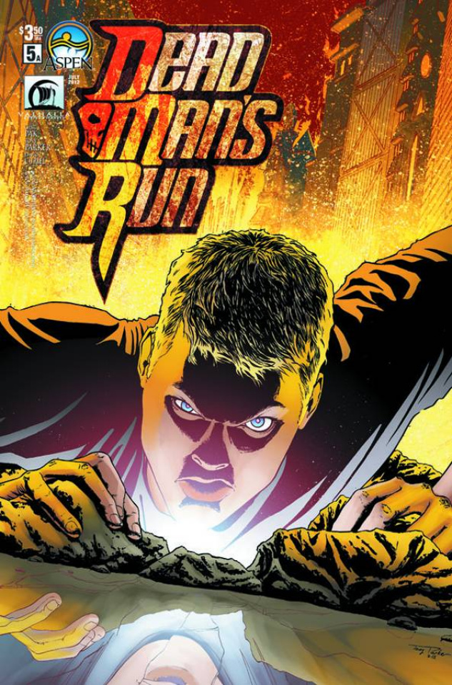 Dead Man's Run #5 (Parker Cover)
