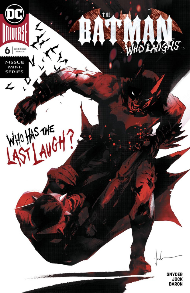 The Batman Who Laughs #6 (Variant Cover)