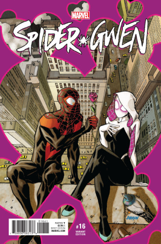 Spider-Gwen #16 (Johnson Cover)