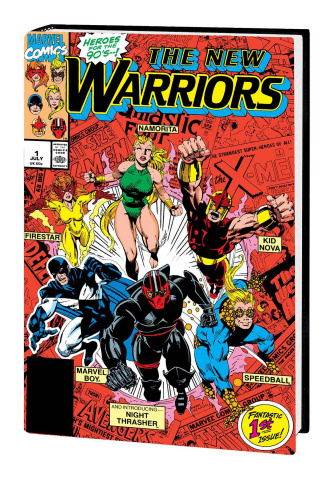 New Warriors Classic Vol. 1 (Omnibus Bagley Cover)