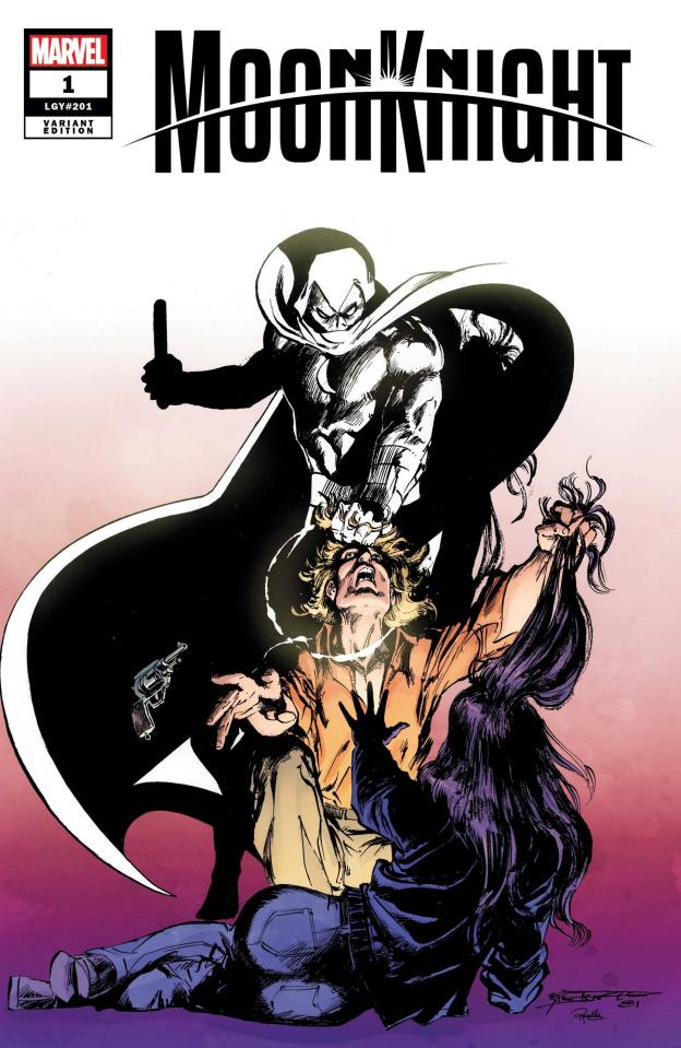 Moon Knight #1 (Sienkiewicz Hidden Gem Cover)