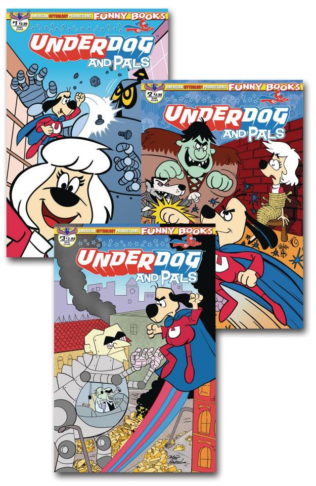 Underdog and Pals #1-3 (Reader Set)