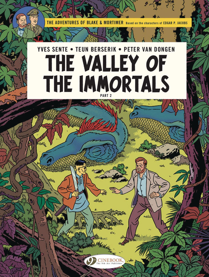 The Adventures of Blake & Mortimer Vol. 26: The Valley of the Immortals