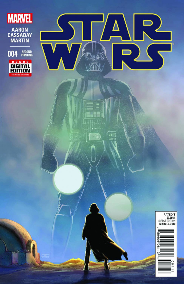 Star Wars #4 (Cassaday 2nd Printing)