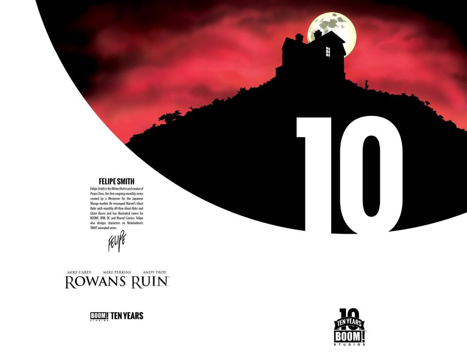 Rowan's Ruin #1 (10 Years Stelfreeze Cover)