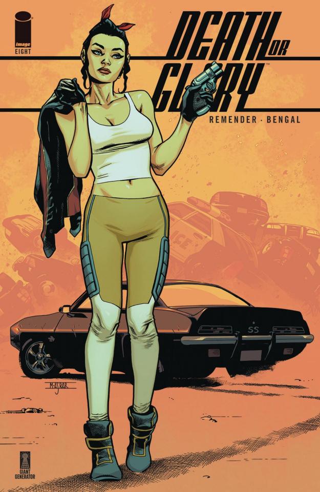 Death or Glory #8 (Asrar Cover)