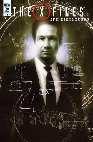 The X-Files: JFK Disclosure #2 (Menton3 Cover)