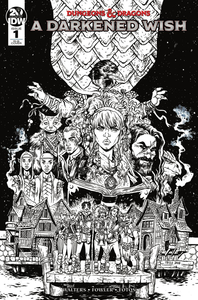 Dungeons & Dragons: A Darkened Wish #1 (25 Copy Fowler Cover)