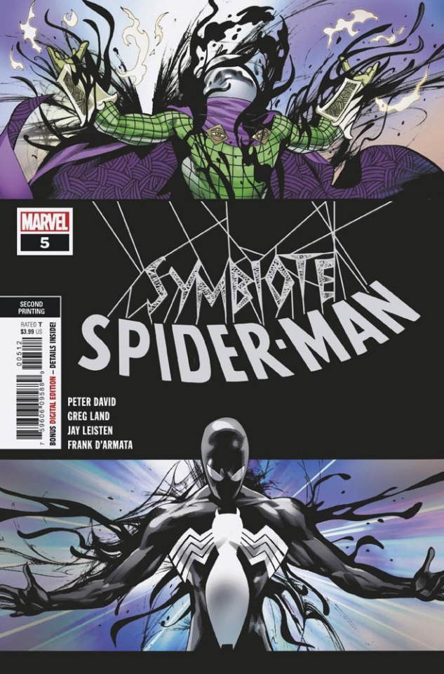 Symbiote Spider-Man #5 (Land 2nd Printing)