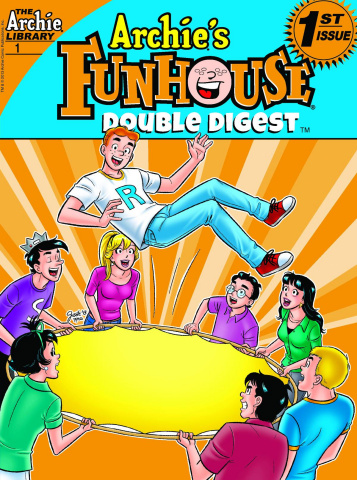 Archie's Funhouse Comics Double Digest #1