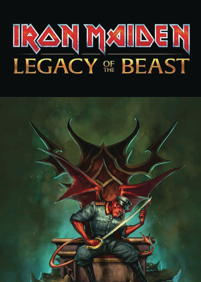 Iron Maiden: Legacy of the Beast #4 (Cover B)