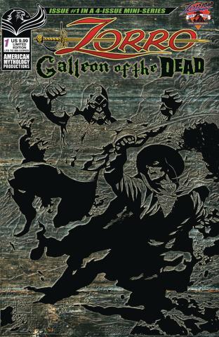 Zorro: Galleon of the Dead #1 (Pulp Cover)