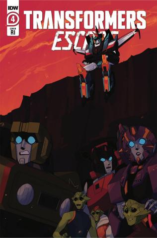 Transformers: Escape #4 (10 Copy Red Powell Cover)