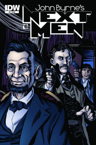 John Byrne's Next Men #6