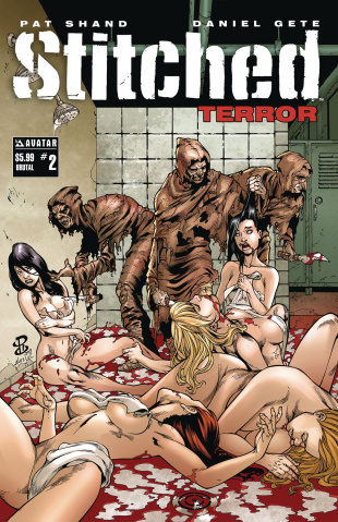 Stitched: Terror #2 (Brutal Cover)