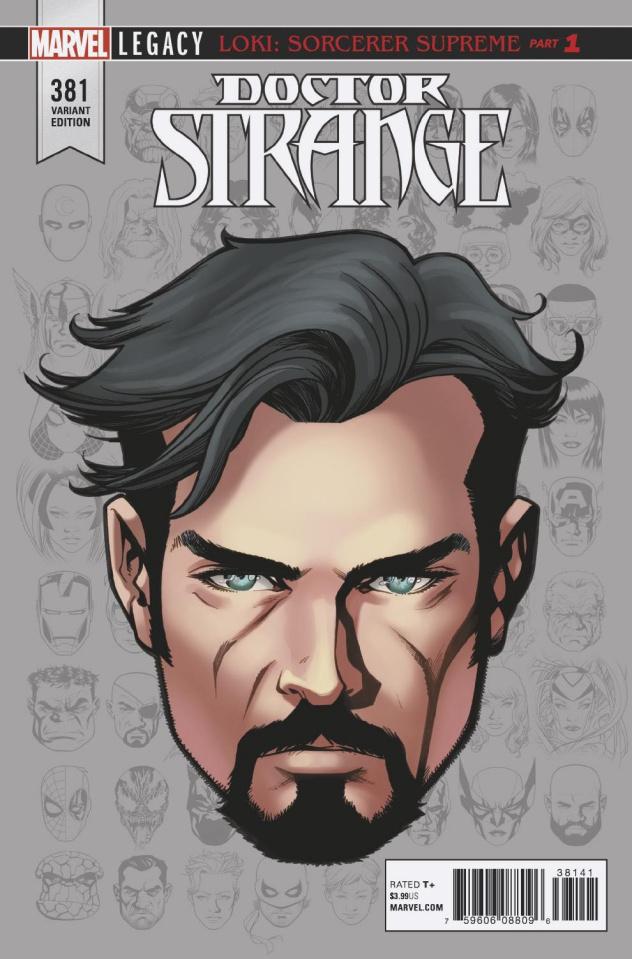 Doctor Strange #381 (McKone Legacy Headshot Cover)