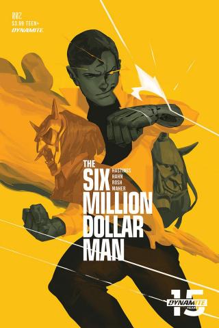 The Six Million Dollar Man #2 (Magana Cover)