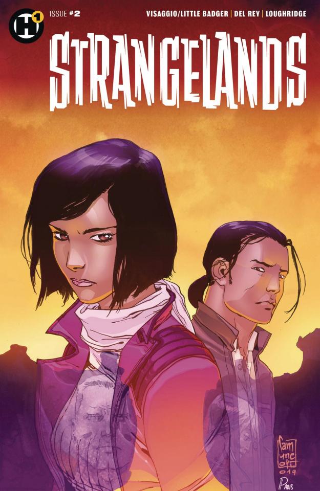 Strangelands #2 (Cammuncoli Cover)