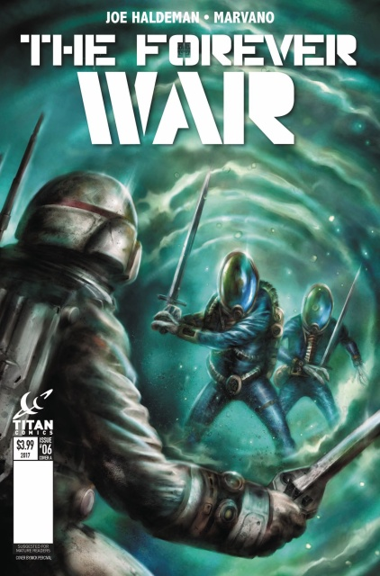 The Forever War #6 (Percival Cover)