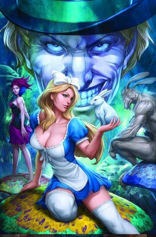 Grimm Fairy Tales: Alice in Wonderland #1 (Artgerm Cover)