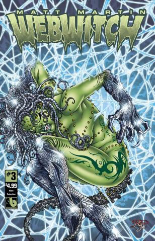 Webwitch #3 (Alien Seduction Cover)