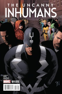 The Uncanny Inhumans #11 (Pham Reenactment Cover)
