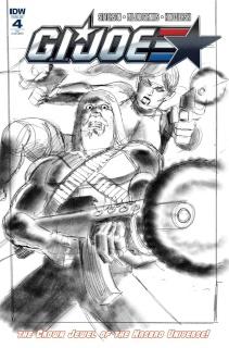 G.I. Joe #4 (10 Copy Cover)