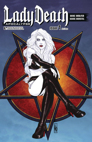 Lady Death: Apocalypse #1 (Art Deco Cover)