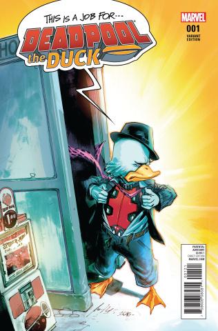 Deadpool the Duck #1 (Albuquerque Cover)