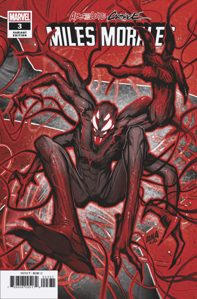 Absolute Carnage: Miles Morales #3 (Nakayama Connecting Cover)