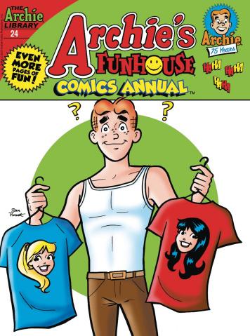 Archie's Funhouse Comics Annual Digest #24