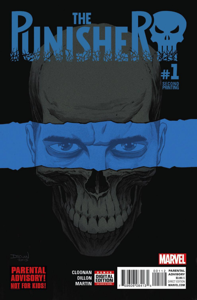 The Punisher #1 (Shalvey 2nd Printing)
